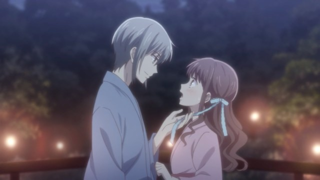 Fruits Basket Episode 11 Review: Yuki gives Tooru a White Day ribbon.