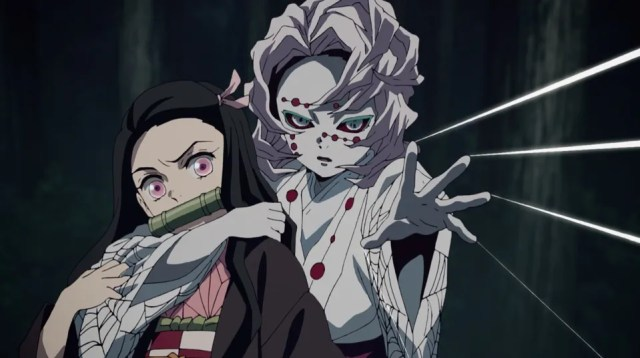 Review of Demon Slayer: Kimetsu no Yaiba Episode 19: Rui is too fast for Tanjiro or Nezuko