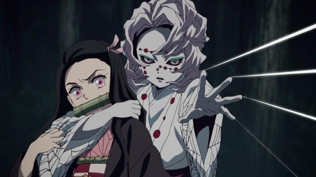 Review of Demon Slayer: Kimetsu no Yaiba Episode 19: Rui is too fast for Tanjiro or Nezuko