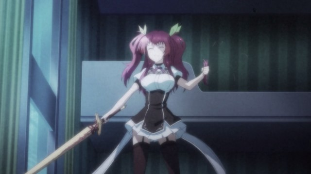 Review Of Chivalry Of A Failed Knight Episode 11: Stella sends Ikki a lock of her hair