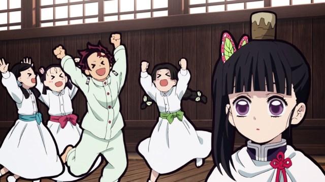 Review of Demon Slayer: Kimetsu no Yaiba Episode 25: Tanjiro finally proved he was faster than Kanao.