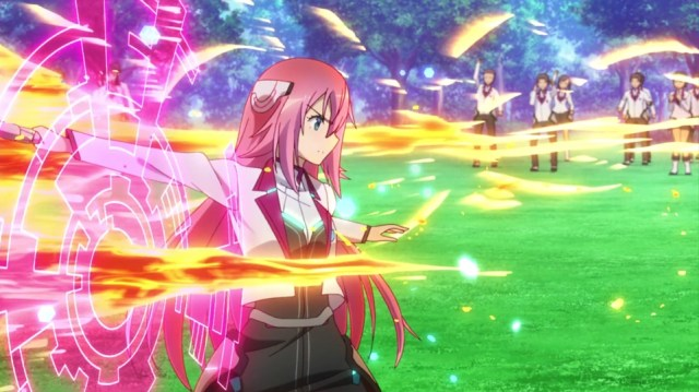 The Asterisk War Episode 1: Julis was serious about the battle...