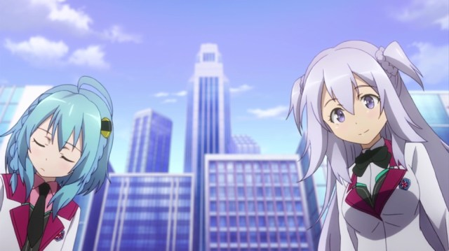 The Asterisk War Episode 8: Saya and Kirin set out to find a birthday present for Saya's dad