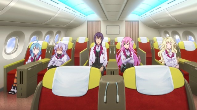 The Asterisk War Episode 22: Julis knows how to travel in style; so does Claudia