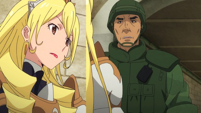 Gate Thus the JSDF Fought There Episode 23: Kengun and Boozes spoke as equals
