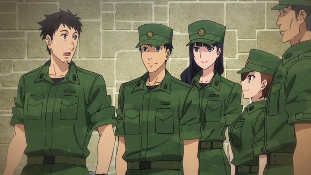 Gate Thus the JSDF Fought There Episode 24: Itami's old unit volunteered to help