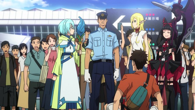 Gate Thus the JSDF Fought There Episode 24: A mage, elf, and demi god certainly caused a commotion