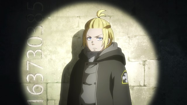Fire Force Season 2 Ep 9: Arthur recognized the value of pi even if he didn't know what pi was!