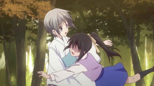 Fruits Basket Season 2 Episode 21: Little Yuki's dream of having friends vanished in a puff of smoke.