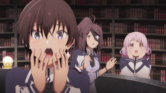 The Misfit of Demon King Academy Episode 5: The Anos Fan Union is really affectionate.