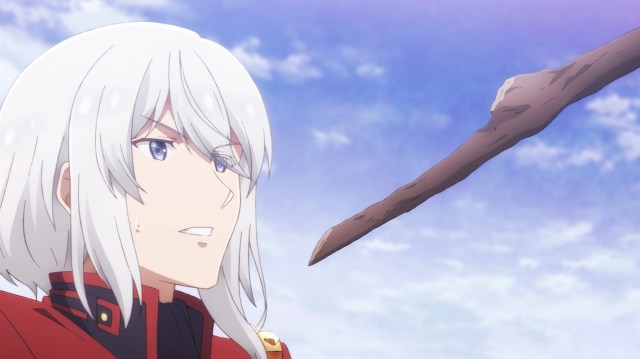 The Misfit of Demon King Academy Episode 5: Ray lost to a stick. But it was Anos' stick, so it's okay.