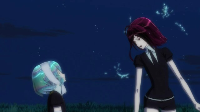Land of the Lustrous Episode 3: Diamond always looks through a romantic prism