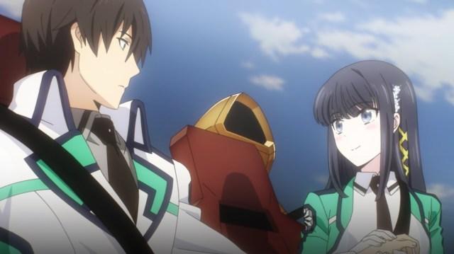 The Irregular at Magic High School: Visitor Arc Episode 4: Miyuki was as surprised as me. Emotions from Tatsuya?