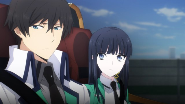 The Irregular at Magic High School: Visitor Arc Episode 4: Tatsuya appeared pensive