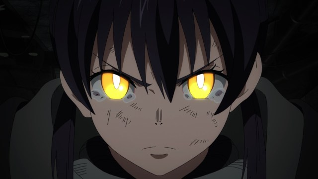 Fire Force Season 2 Ep 21: Tamaki held off numerous Infernals and two White Clads until help arrived