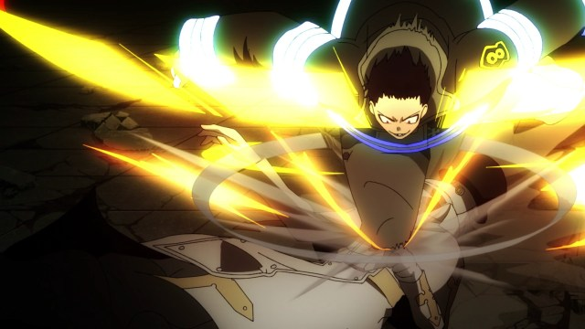 Fire Force Season 2 Ep 22: Shinra got some good hits in