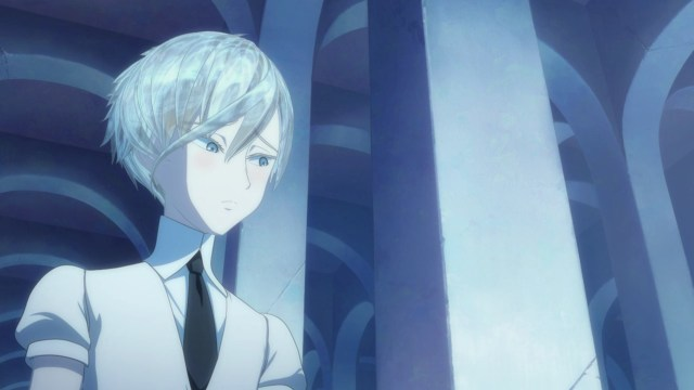 Land of the Lustrous Episode 7: Antarcticite was almost bashful with Sensei.