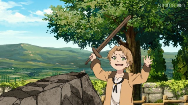 Mushoku Tensei: Jobless Reincarnation Episode 2: Paul needs to give Rudeus more time to learn the sword