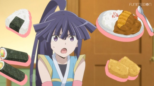 Log Horizon: Destruction of the Round Table Episode 2: Akatsuki wasn't happy with the thought the People of the Land could stop selling them food