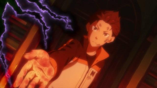 Re:ZERO Season 2 Part 2 Episode 49: Subaru's wound will need treatment soon!