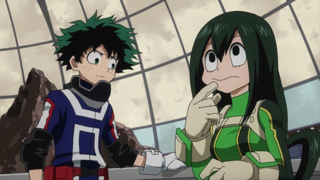 Midoriya and Asui have always worked well together.