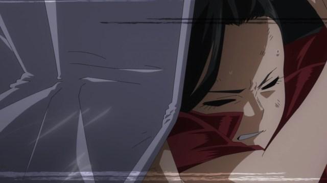 My Hero Academia Season 5 Episode 94: Momo's plan took guts.