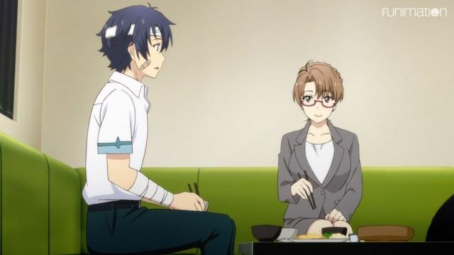 The Women of YU-NO: Takuya, no stranger to bandages!