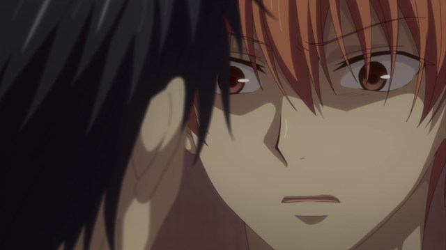 Kyou saw his father clearly for the first time