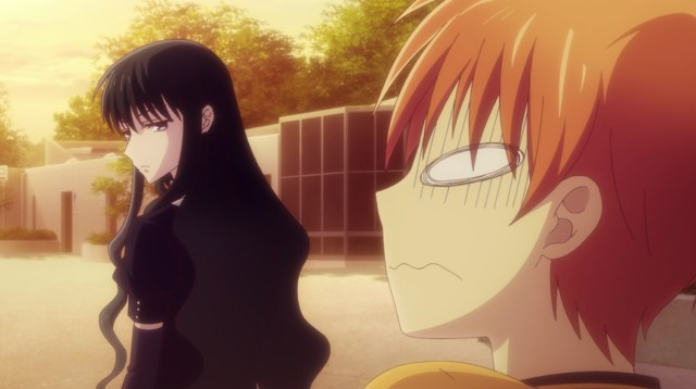 Fruits Basket - The Final Episode 13: Yes, Saki can read minds.