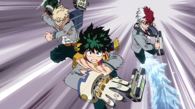 My Hero Academia Season 5 Episode 102: Bakugou can put his temper to good use.