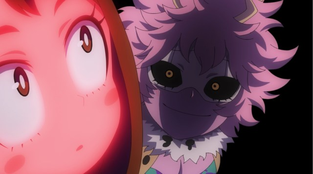 My Hero Academia Season 5 Episode 99: Ashido is very astute.