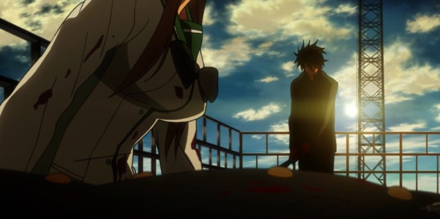 High School of the Dead Episode 1: Takashi made the tough decision