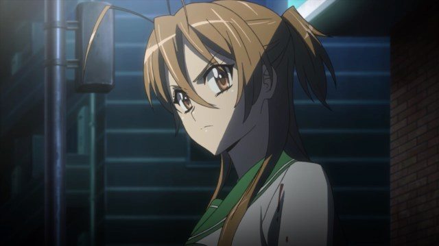 High School of the Dead Episode 4: Rei told Takashi to man up! That was harsh!