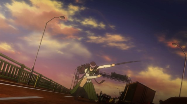 High School of the Dead Episode 5: The scene was over the top but gloriously awesome