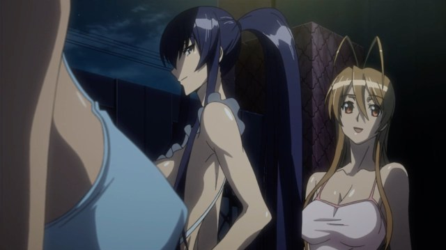 High School of the Dead Episode 7: Rei was elated to feel human again