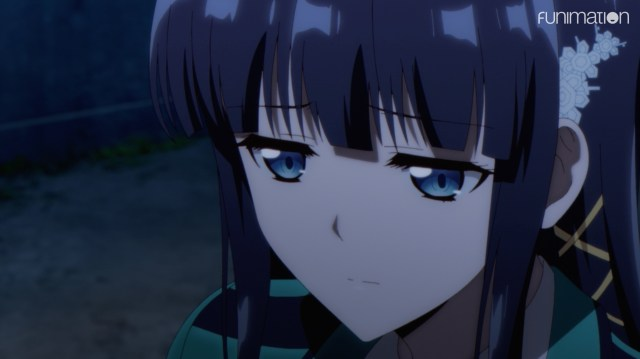 The Honor at Magic High School Episode 5: Tatsuya knew how Miyuki would react.
