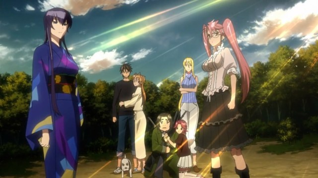 High School of the Dead Episode 10: Saya had surrounded herself with capable people who she trusted