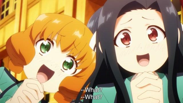 The Honor at Magic High School Episode 13: Seems like Mayumi and Azusa like their BL!