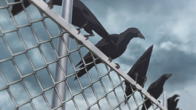Mieruko-chan Episode 1: Crows are intelligent and sensitive creatures