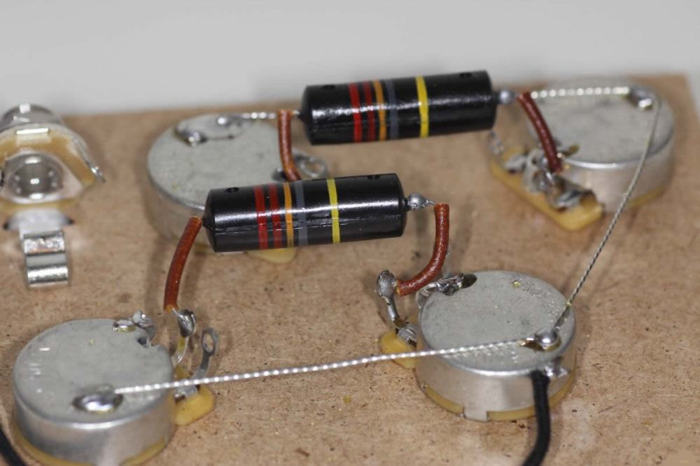 medium resolution of prewired assembly les paul 1956 1960 short shaft gibson vintage style