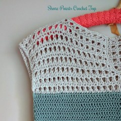 Shore Points Crochet Top