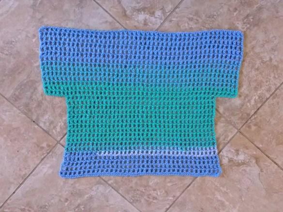 Off the Shoulder Crochet Top Pattern