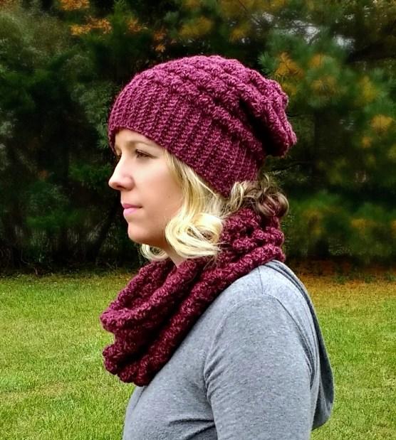 The Lenape Slouch Beanie A Free Pattern By Croyden Crochet
