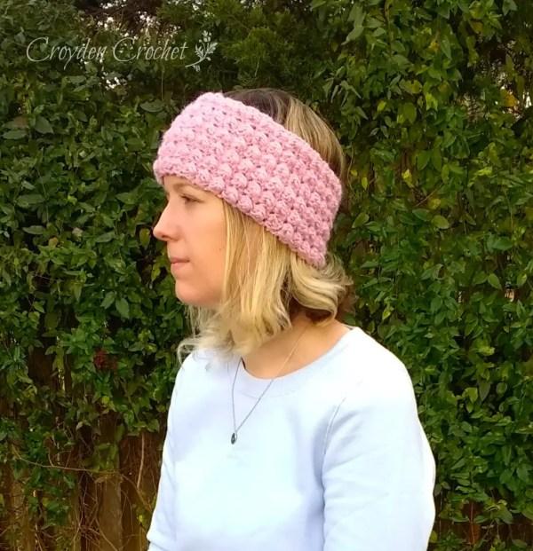 berry stitch ear warmer