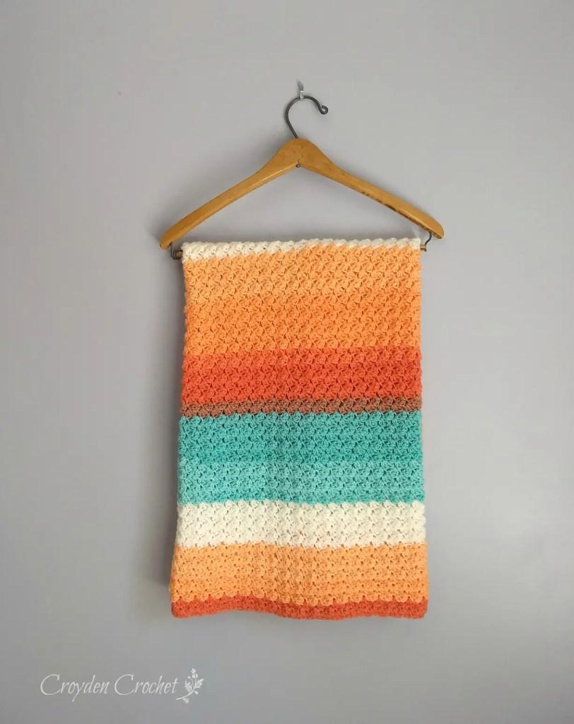Every Day Crochet Baby Blanket A Free Pattern By Crodyen Crochet