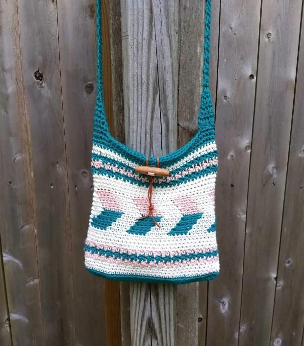 Maya Crochet Crossbody Bag A Free Pattern By Croyden Crochet