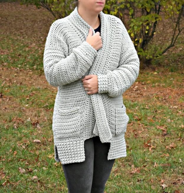 Bellevue Crochet Cardigan A Free Pattern By Croyen Crochet