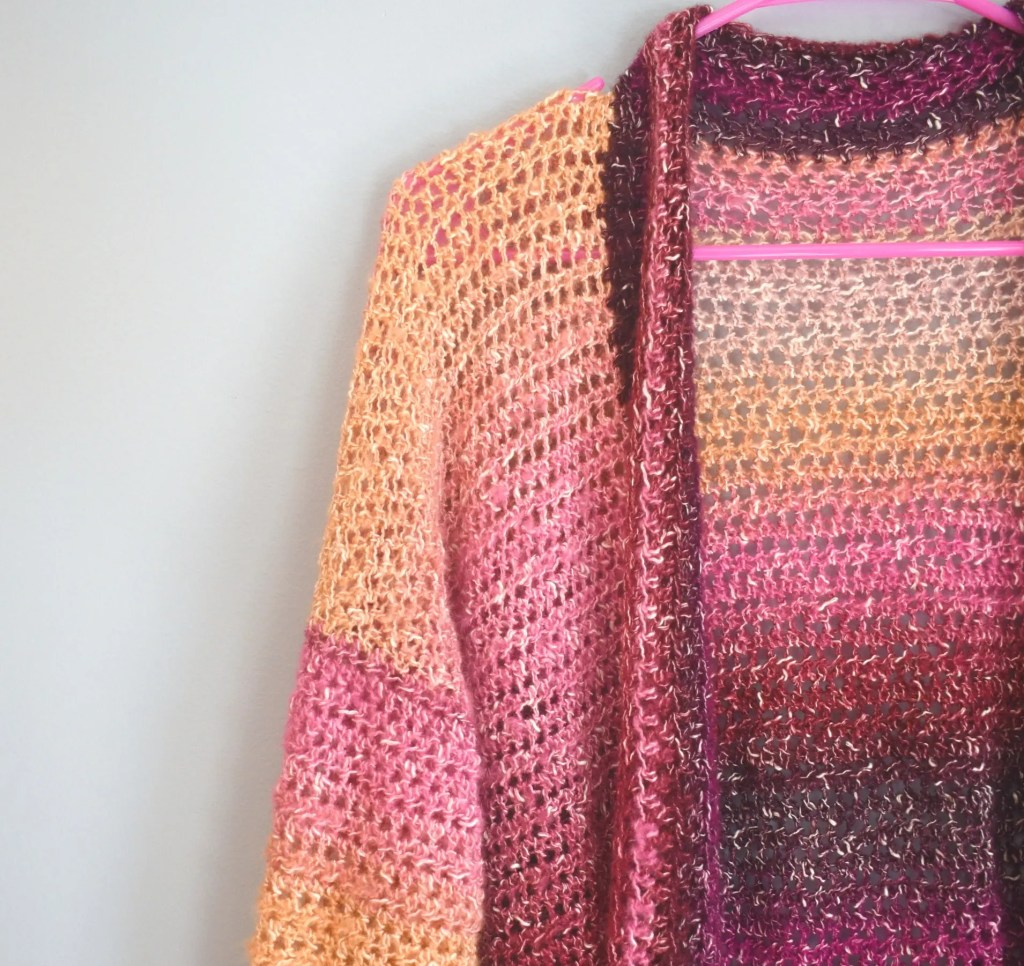 crochet Changeover Cardigan Pattern