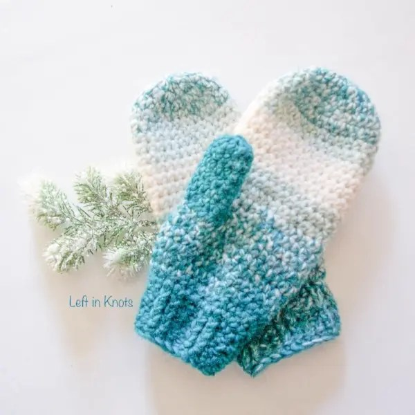 8 crochet mitten patterns