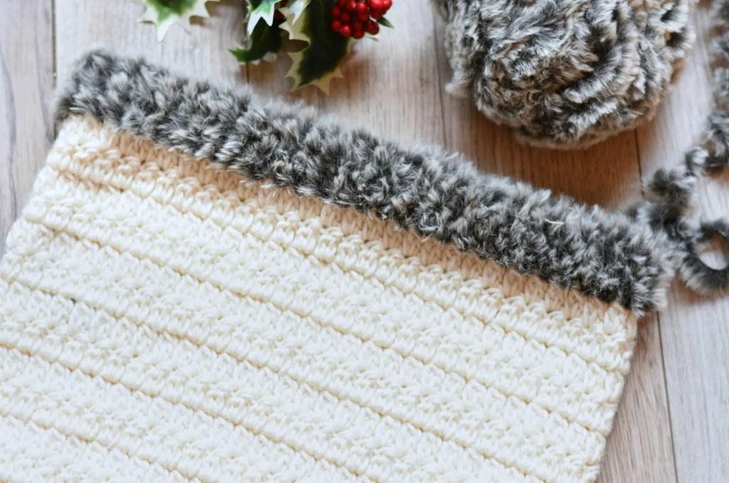nordic crochet cowl